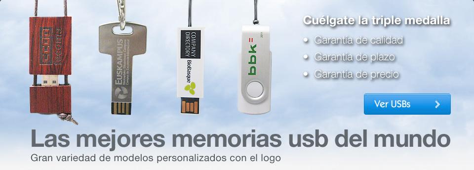 Memorias USB Sarbide
