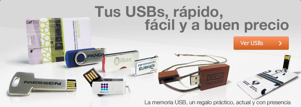 Fabricación memorias USB
