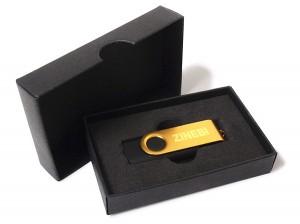 caja regalo revolving USB bodas