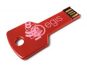 USB llave roja personalizada