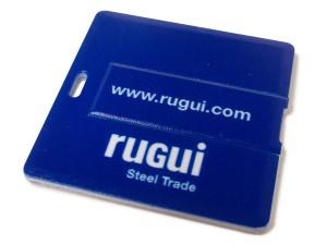 USB tarjeta cuadrada personalizada
