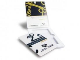 Estuche USB tarjeta