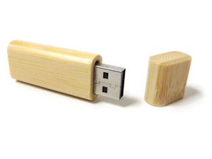 pendrive eco madera round