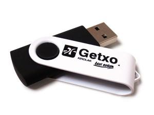 Memoria USB revolving personalizada con logo