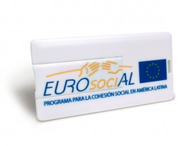 USB tarjeta mini personalizada con tu marca o logo