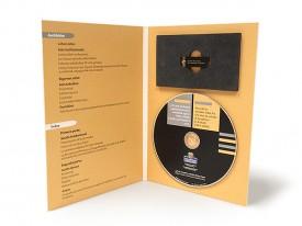 Estuche Digibook A5 COMBI para USB y DVD