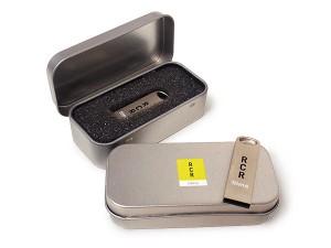 Caja USB Metal Thick